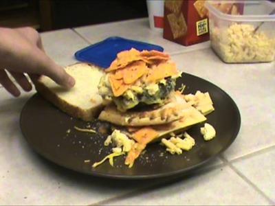 AshDubh's Cheesy Sandwich Crazy Craft - CHEESIEST CHEESE!