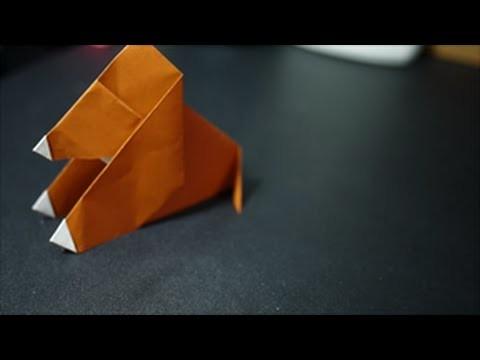 ASMR: Origami Dog