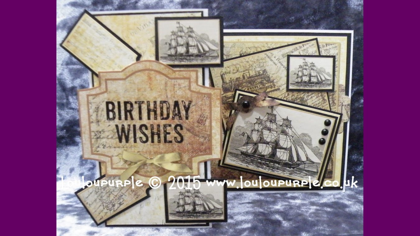 Card Made Using Crafter's Companion Inspiration 7 Magazine.
