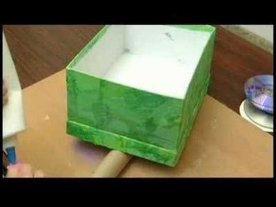 Children's Crafts: Shoe Box Wagon : Children's Crafts: Shoe Box Wagon Decorating
