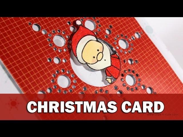 Christmas Card | CAS October kit video hop