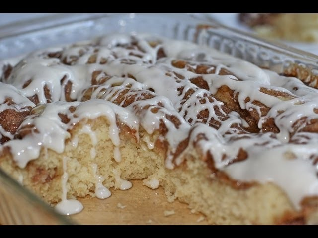 Cinnamon Roll Coffee Cake Recipe (It was a good morning)