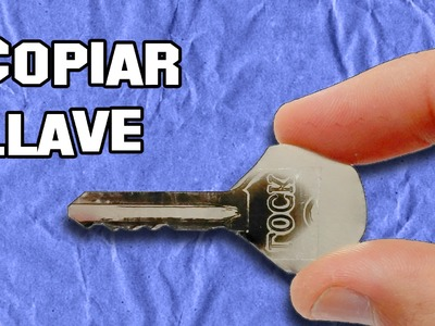 Como Copiar Una Llave En Segundos | How To Copy A Key In Seconds