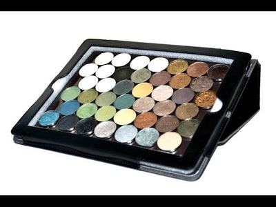D.I.Y Magnetic Makeup Palette Using iPad Case