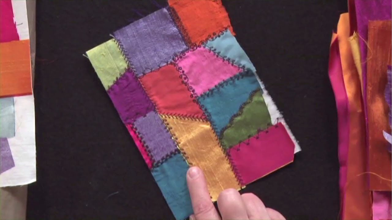 Deconstructed Crazy Quilt Technique  |  National Quilters Circle