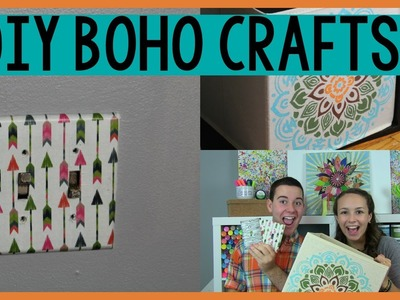 DIY BOHO CRAFTS | DORM DECOR