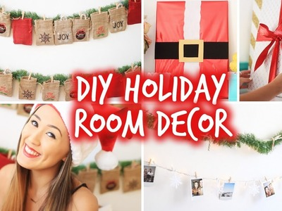 Diy Christmas Room Decor 2015! Easy Diy Christmas Ideas 2015