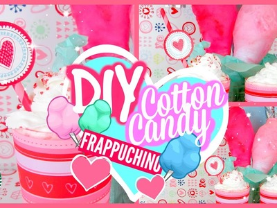 DIY Cotton Candy Frappuchino