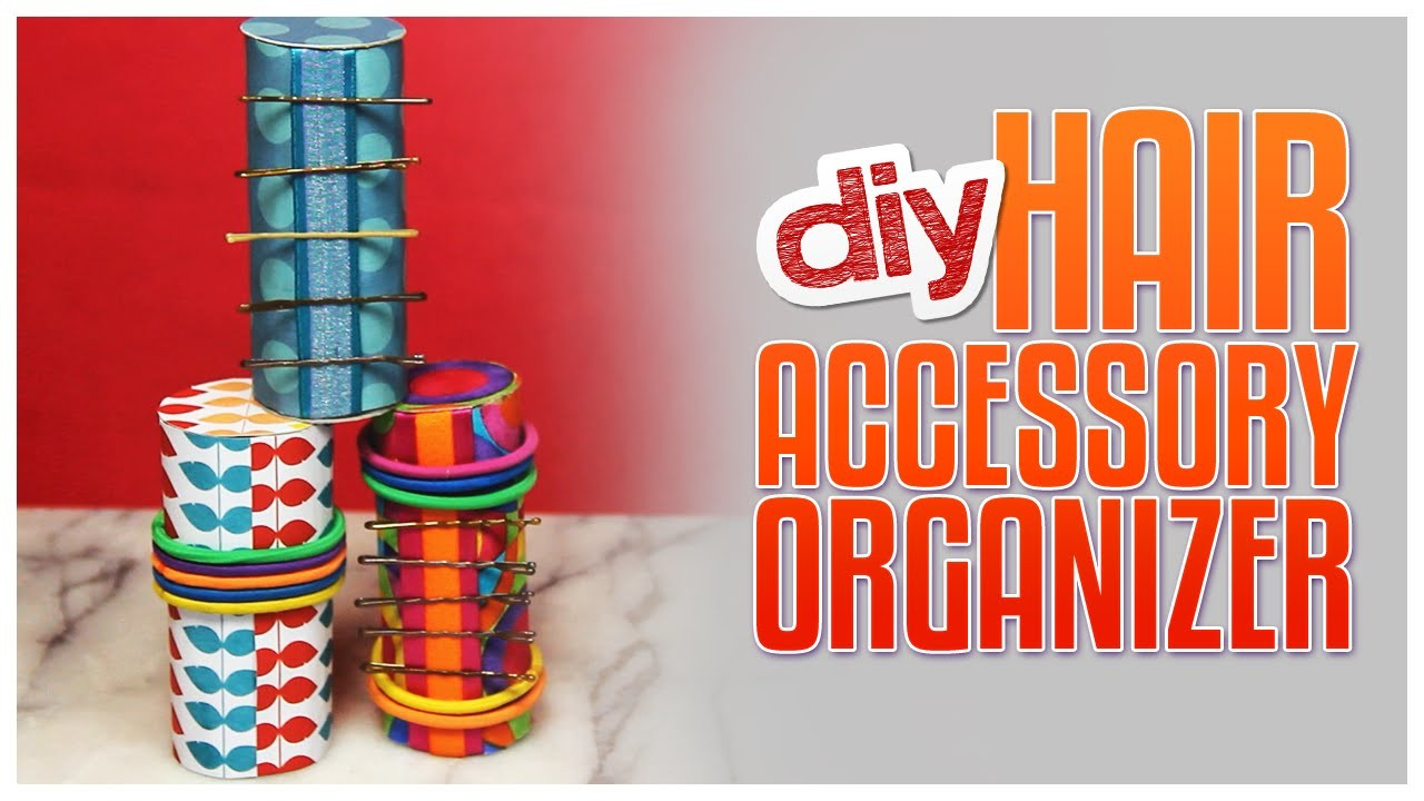 DIY Hair Accessories Organizer - Do It, Gurl