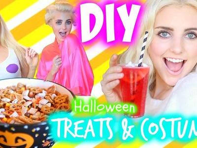 DIY Halloween Treats & Last Minute Costume Ideas! | Aspyn Ovard