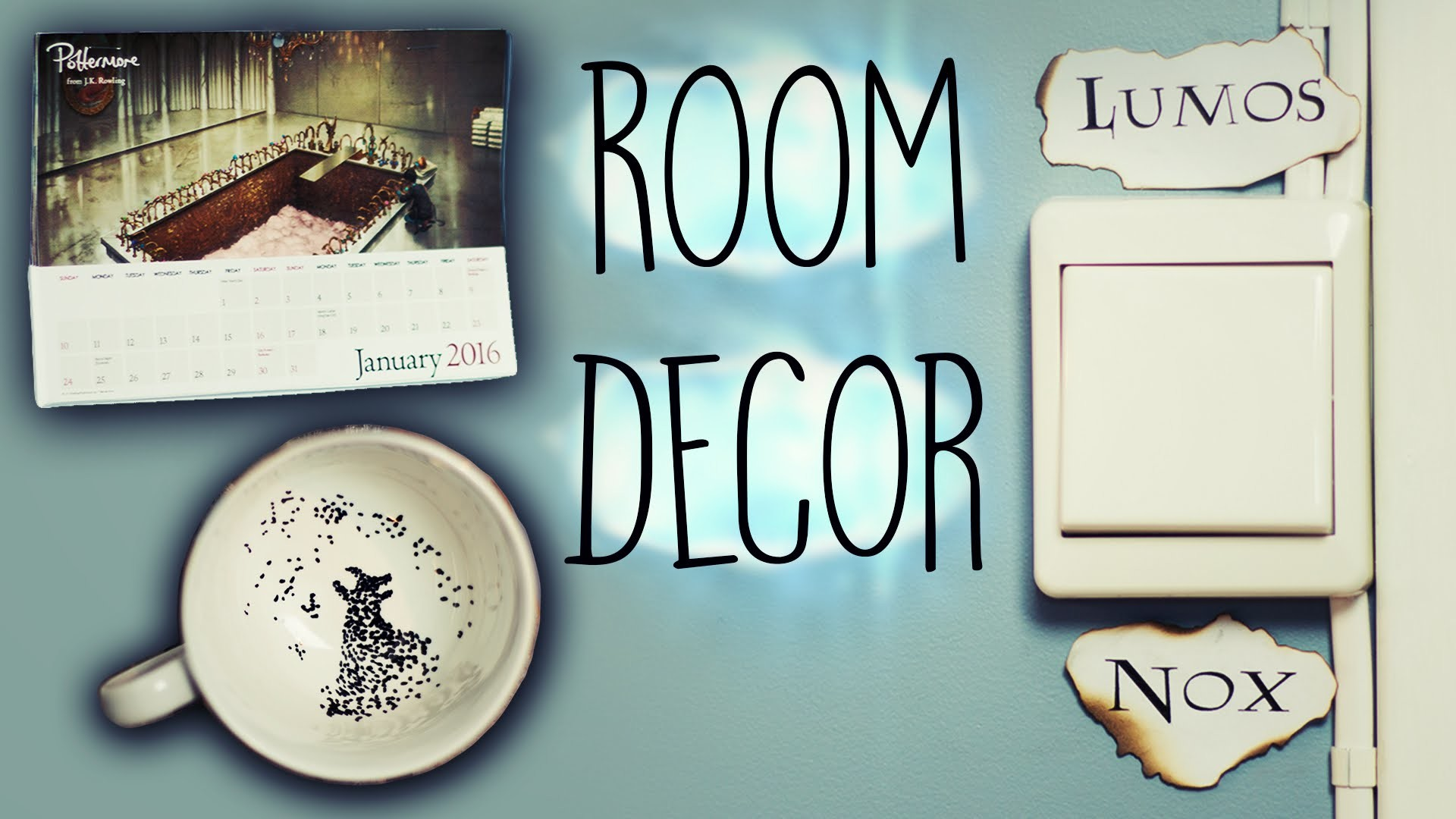 DIY Harry Potter Room Decorations! #2