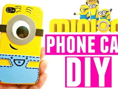 DIY Minion Phone Case | How to Make a Cell Phone Case