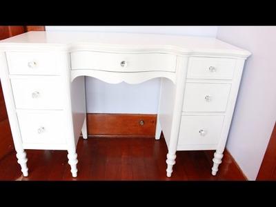 DIY: Vanity Revamp.Restoration
