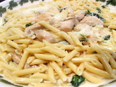 Easy Chicken Florentine Recipe - OrsaraRecipes