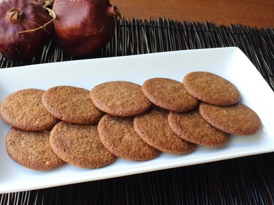 Easy Gingersnap Cookies - How to Make Crispy or Chewy Gingersnaps