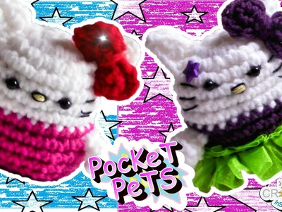 Hello Kitty - Jayda's Crochet Pocket Pets