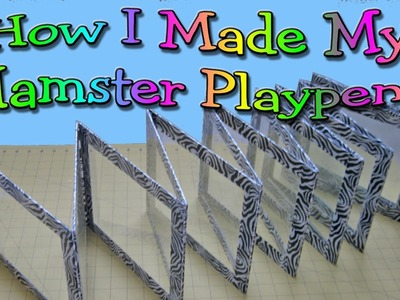 How I made my hamster playpens by HAMMY TIME