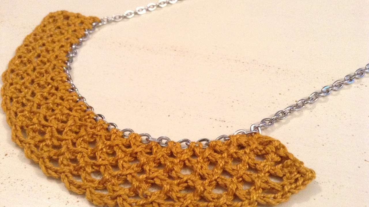 How To Crochet A Chain Necklace With Guidecentral. - DIY Style Tutorial - Guidecentral