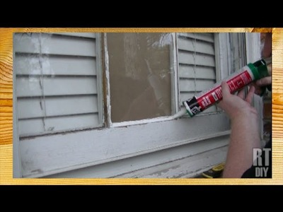 How to Fix A Broken Window Pane ~ Rick's Tips DIY