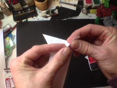 How to Fold Origami Darth Maul by Tom Angleberger