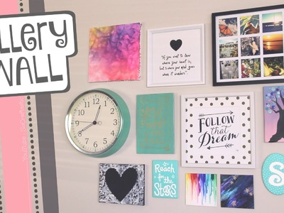 How to hang a GALLERY WALL. Easy picture hanging tips for wall art