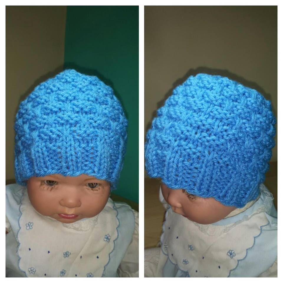 How to knit a newborn baby hat