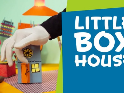 How to Make a Little Cardboard Box House   DIY Crafts for Kids   SuperHands: Ep 02