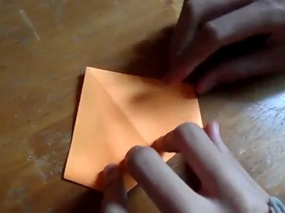 How to make a origami gold ingot