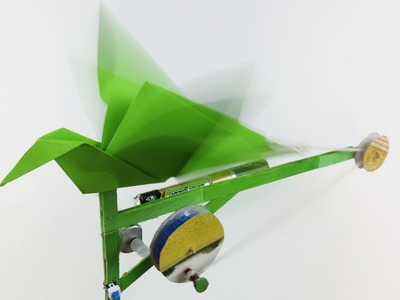 How to Make an Origami Flapping Bird - (Origami. Robot)