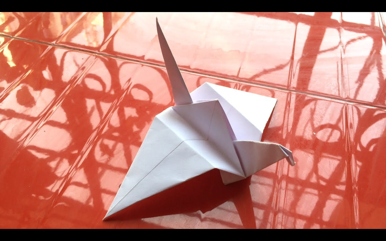 How To Make Flapping Bird Origami