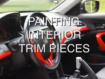 How to Paint Interior Trim Pieces