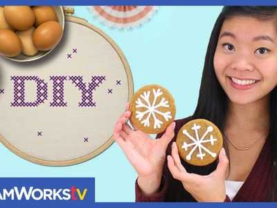 Kawaiisweetworld's Snowflake Cookies | I ♥ DIY