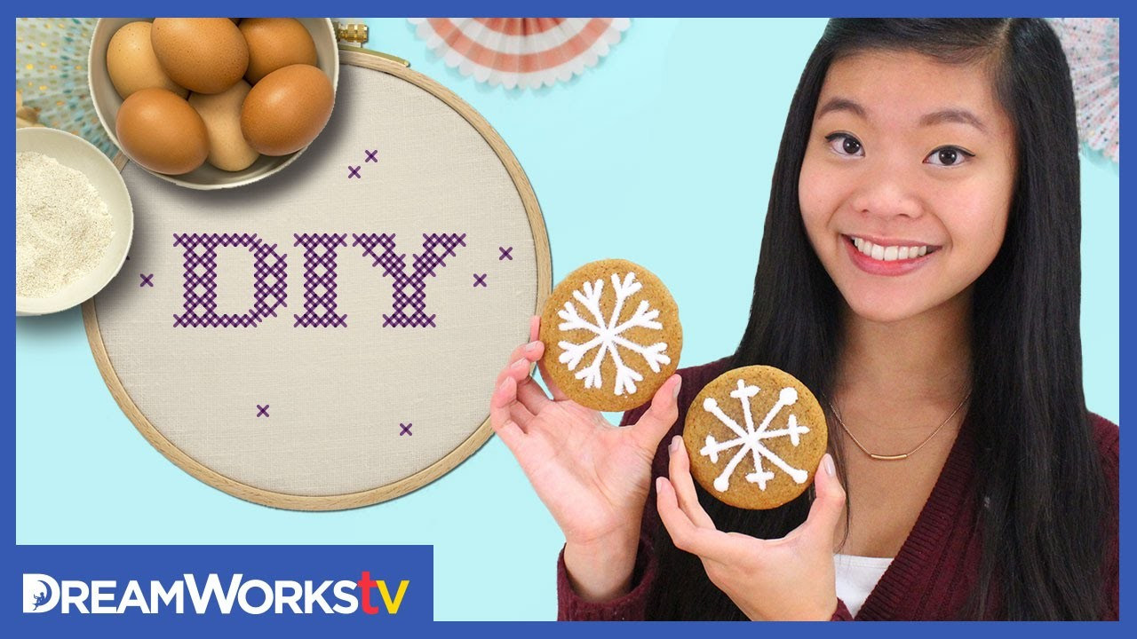 Kawaiisweetworld's Snowflake Cookies | I ♥ DIY