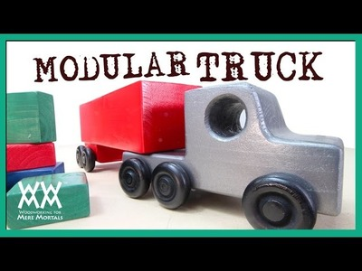 Make This Amazing Toy Truck From One 2x4 Board