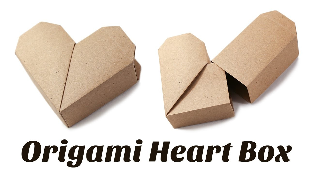 Origami Heart Box Instructions