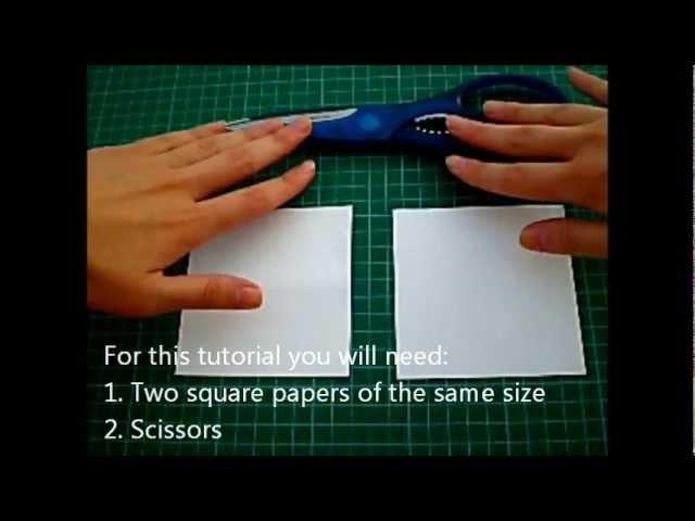 Origami lesson: Pentagonal prism.!