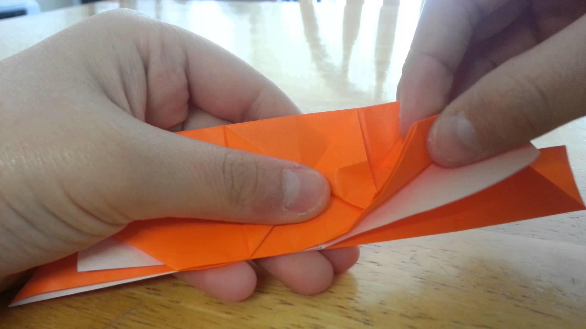 Origami Samurai Helmet (Jun Maekawa) - Tutorial