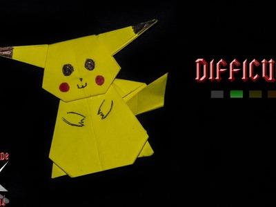 [ORIGAMI TUTORIAL] Pokémon Pikachu || Pokémons.Kids