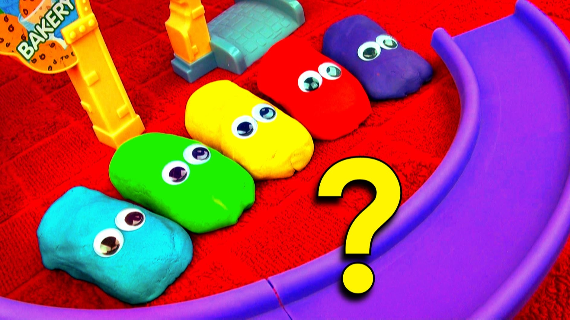 Play Doh Cars Guessing Game! Guess Who's Hiding! Disney Cars Hide n Seek Toy Learning Game FluffyJet