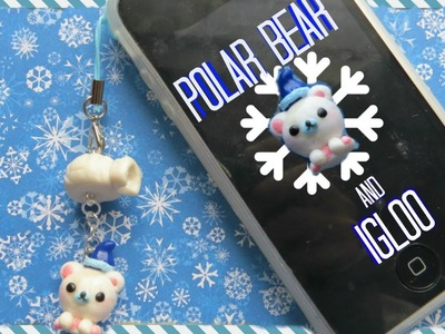 Polar Bear & Igloo Charm | Polymer Clay Tutorial