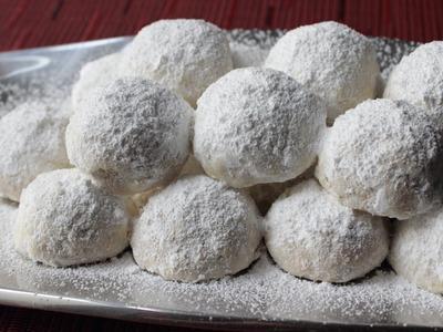 Russian Tea Cakes - Easy Tea Cookies Recipe aka Wedding Cookies