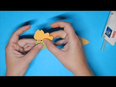 Spellbinders Create-A-Daffodil