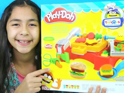 Tuesday Play Doh Cookout Creations Play-Doh Hamburger Hot Dog Chicken| B2cutecupcakes