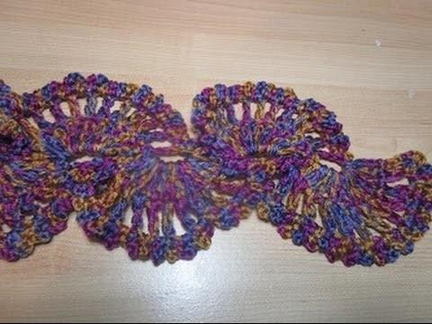 Uncinetto crochet sciarpa tutorial