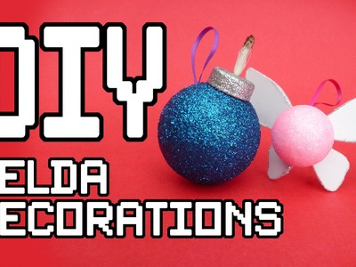 Zelda Christmas Decorations DIY Tutorial
