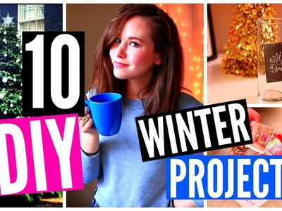 10 DIY Projects for Winter! DIY ROOM DECOR