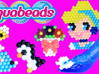 AQUABEADS DIY Ultimate Design Studio & Disney Princess Cinderella Aqua Beads DisneyCarToys