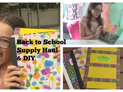 Back to School Supplies Haul | Easy DIY for School Supplies | Make it Fancy | Fiona Frills