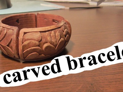 Carved Bracelet | woodcarving | handmade | art | Carving On Wood