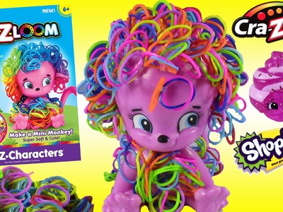 Cra-Z-Art 3D Cra-Z-Loom Character Creator! DIY Mini Monkey!Season 2 SHOPKINS Ultra Rare SURPRISE!